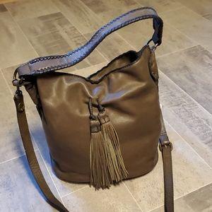 Patricia Nash Otavia Dk Green Leather Buck…
